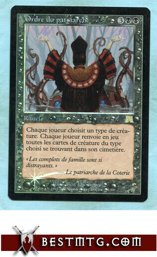 MTG - Patriarch's Bidding #A Foil - Onslaught - French