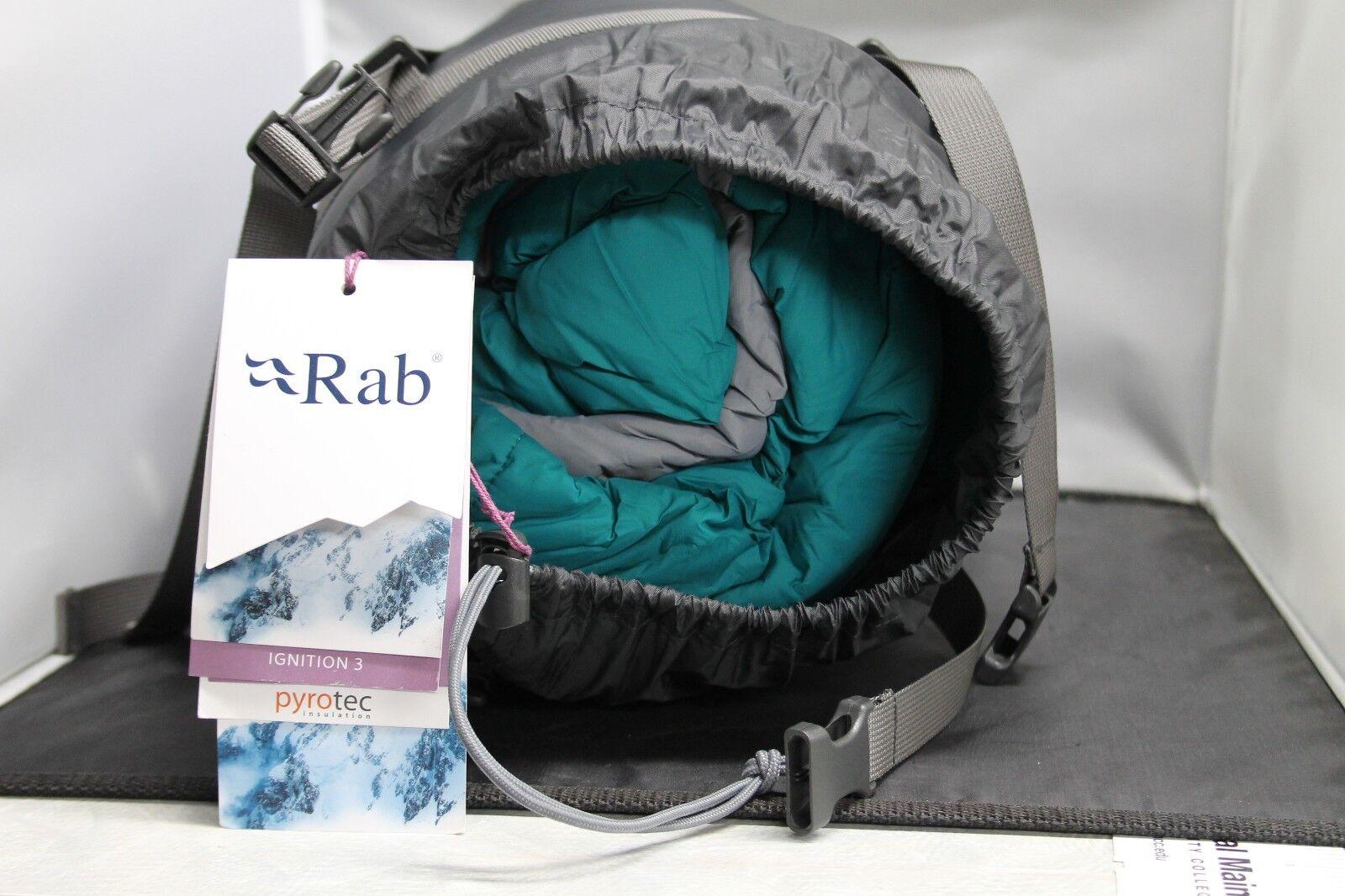 Rab Women's Ignition 3 Sleeping Bag BRAND NEW     2018 latest
