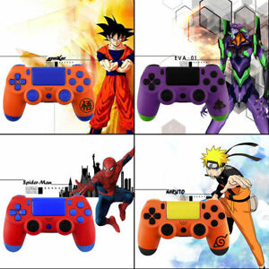 Dragon-Ball-Spider-Man-PS4-Slim-Pro-Controller-Shell-Case-Full-Custom-Mod-Kit