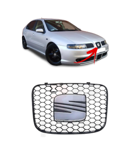 FOR-SEAT-LEON-FR-99-06-NEW-GENUINE-FRONT-BUMPER-CENTER-GRILL-1M0853651J79Y