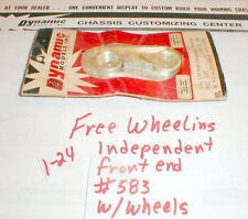 1 Kit Free Wheeling Front End with Wheels by Dynamic1960 Vintage #583 1/24 scale