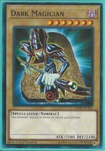 Yugioh-Dark Magician - 1st Edición Tarjeta