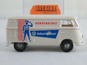 """Volkswagen T1b Kombi weiß-verschmutzt /"""" Die Meute /"""" 1:87 100 pcs. Brekina"""