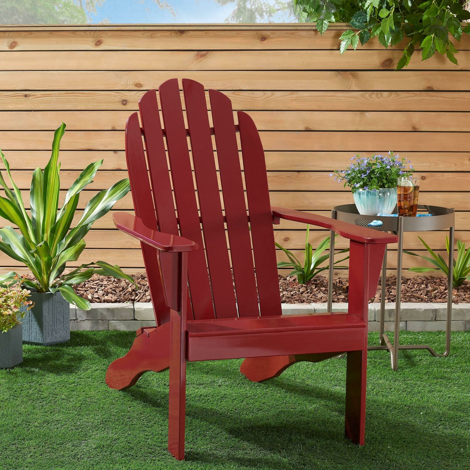 Picture of: Openbox Songsen Fashion Outdoor Wood Adirondack Chairs Muskoka Chair Patio Deck For Sale Online Ebay