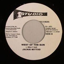 JACKIE MITTOO - WEST OF THE SUN (STUDIO 1) 1968