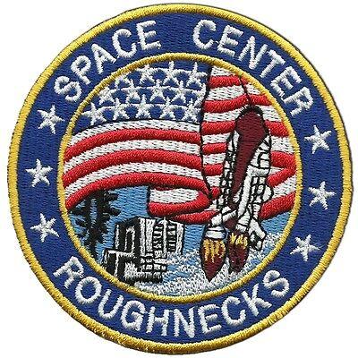 "Armageddon Movie Roughnecks Logo Embroidered Iron-on patch 3.5/"""