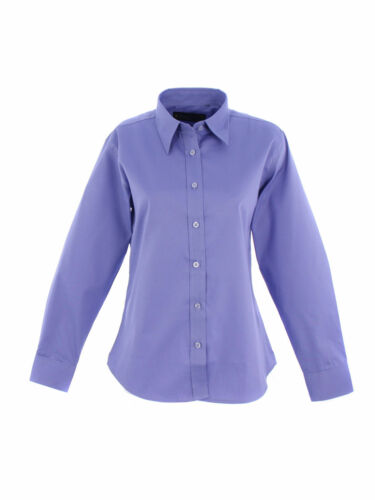 UNEEK Ladies Pinpoint Oxford Full Sleeve Women Long Work Formal Uniform Shirt
