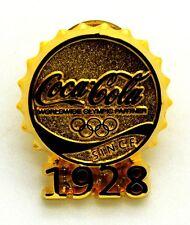 Pin Spilla Olimpiadi Torino 2006 - Coca-Cola Tappo Gold