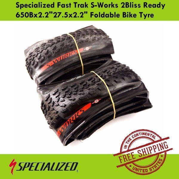 Specialized Fast Trak S-Works 2Bliss Ready 650Bx2.2 27.5x2.2  Foldable Bike Tyre