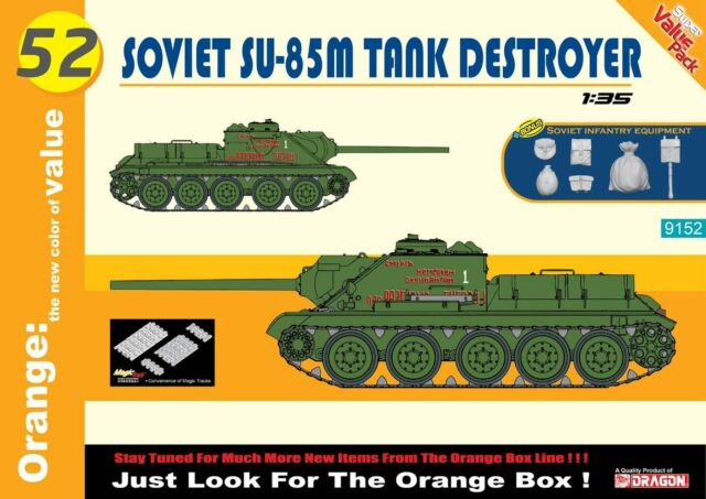 Cyber Hobby 1:3 5 9152 (Dragon): Soviet SU-85M Tank Destroyer