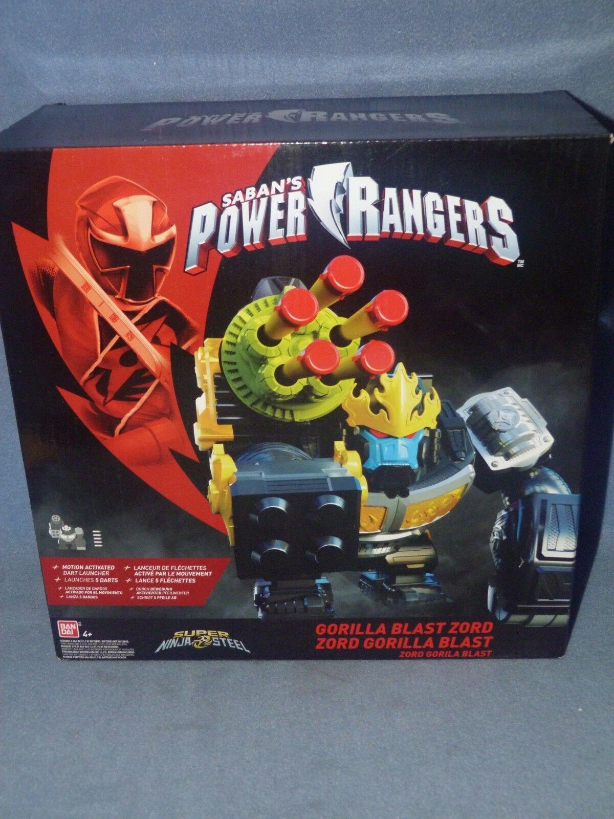 Power rangers super ninja stahl gorilla scharfschütze explosion zord - bnib