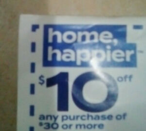 $10 OFF $30 BED BATH BEYOND COUPON EXP 8/8/2021