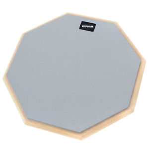 """Keepdrum Dp-gy12 Drum Practice Pad Gris übungspad 12""""-afficher Le Titre D'origine Bonne Conservation De La Chaleur"""