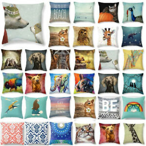 Cute-Animal-18-034-Cotton-Linen-Pillow-Cases-Throw-Pillow-Cover-Sofa-Cushion-Covers