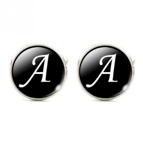 Hombres Camisa De Letras francesa trajes manga botón en puños enlace Cool Accesorios de boda