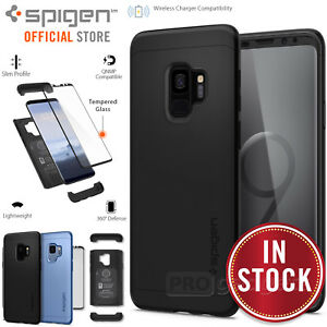 differently 512f1 e9ad7 Galaxy S9 /S9 Plus Case Genuine SPIGEN Thin Fit 360 Hard Cover + ...