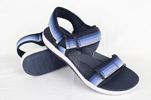 94de8acfa6cc New Clarks Women s Brizo Ravena Walking Sport Sandals Size 7m Navy ...