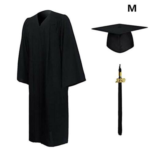 University Academic Graduation Gown and Hat BA Bachelor-UK new