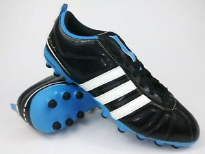 42a443f17 Adidas Mens Rare AdiQuestra IV MG G40711 Black Blue Soccer Cleats ...