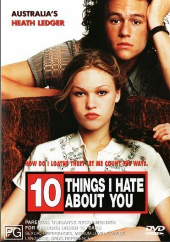 1 of 1 - 10 Things I Hate About You DVD COMEDY ROMANCE Heath Ledger BRAND NEW SEALED R4