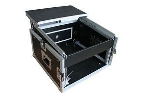6-10-HE-WINKELRACK-L-Rack-DJ-Case-mit-Laptop-Ablage-NOTEBOOK-PA-WOW-Mixer-NEU