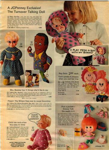 """1972 Pub 32/"""" walking doll Annette noir poupée bébé ZURI Kewpie Flip Wilson"""