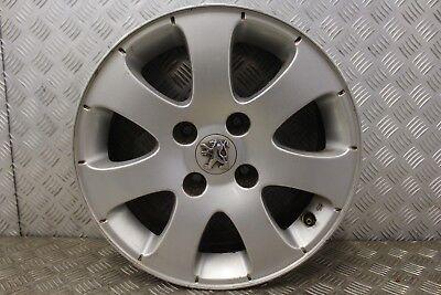Alloy rim Jante alu alliage Sirocco 6.0x15 Peugeot 206 avec cache central