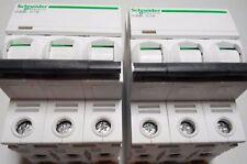 Schneider Electric A9f74301 Miniature Current Breaker Acti9 Ic60n 3p C 1a