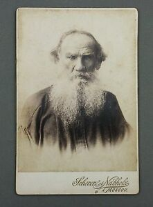 LEO-TOLSTOI-PORTRAIT-PHOTO-SCHERER-und-NABHOLZ-B-AVANZO-MOSCOW-CDV-CABINET-FOTO