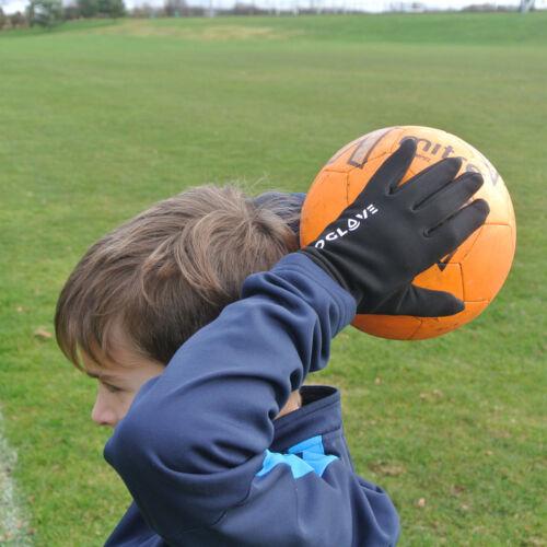 Football Field Player Gloves Waterproof Thermal Grip Boys Kids Junior