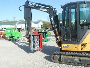 "Excavator Flail Mower,Shredder,Brush Mulcher:Ventura 32"" TFM80,12-25GPM Cut4""Dia"