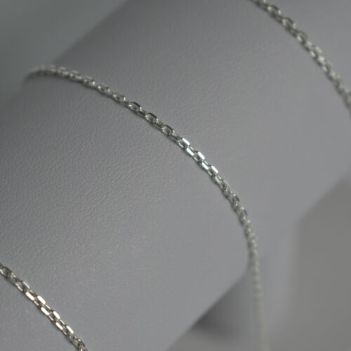 Mens 925 Sterling Silver Trace Chain Necklace 1.4 mm thick perfect gift