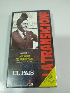 La-derrota-del-Aperturismo-La-transicion-Espanola-RTVE-VHS-Cinta-Tape-Nueva