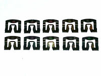 Chrysler Dodge Front Windshield Rear Window Reveal Trim Molding Clips 10ps