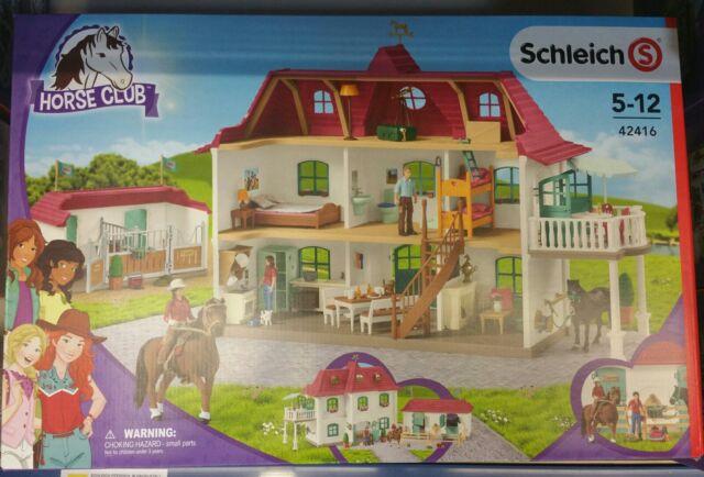 Bauernhof Schleich 42416 Großer Pferdehof mit Wohnhaus und Stall  NEU OVP,