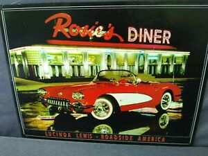 Man Cave Ford Chevy Blue Oval Bow Tie Rosie/'s Diner 1958 Corvette Tin Sign