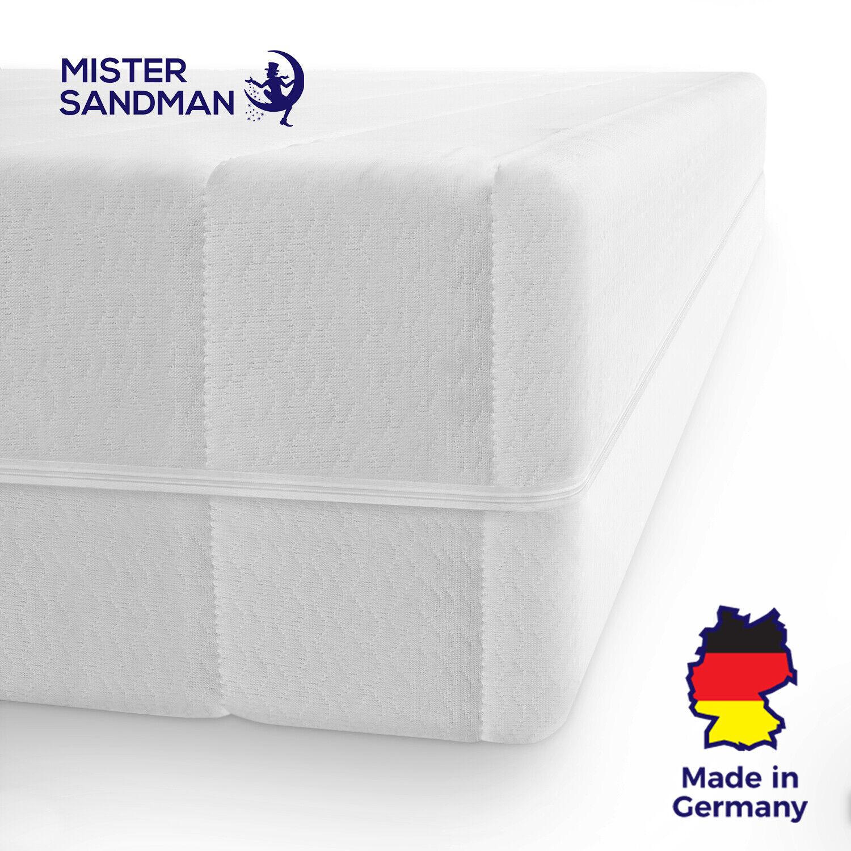 Mister Sandman orthopädische 7 Zonen Matratze 160x200 Matratze H3