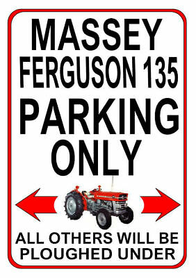FORDSON DEXTA PARKING ONLY metal SIGN NOTICE classic ford tractor gft plaque