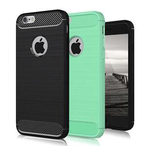 schutzh lle f r apple iphone 5 5s se carbon brush tasche. Black Bedroom Furniture Sets. Home Design Ideas