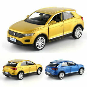 Volkswagen-T-ROC-SUV-Off-road-1-36-Model-Car-Metal-Diecast-Toy-Vehicle-Kids-Gift