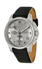 Swiss Army Classic Officer's Chronograph Steel Mens Strap Watch Date 241553