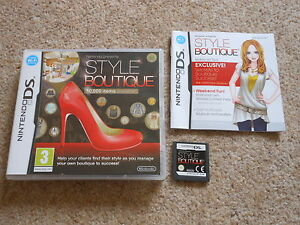 STYLE BOUTIQUE  NINTENDO DS  DS LITE  DSi 100 GENUINE  FAST POST - <span itemprop=availableAtOrFrom>dundee, United Kingdom</span> - ITEMS CAN BE RETURNED IF FOUND FAULTY BUT THIS SHOULD NOT HAPPEN AS I TEST THEM ALL BEFORE LISTING . IF A RETURN IS REQUIRED THEN RETURN TO : David Hovell , 34 Tranent Gardens , Dundee , d - dundee, United Kingdom