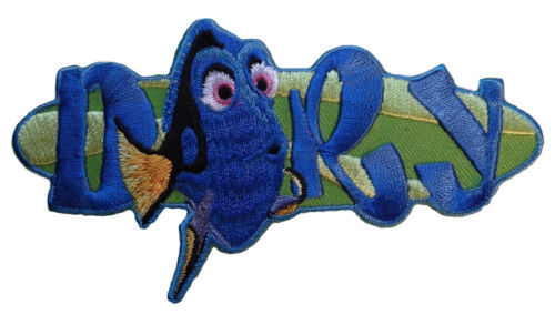 Walt Disney Little Mermaid Movie Dory Name and Character Embroidered Patch