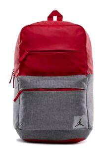 e2a78cf52901f1 La foto se está cargando Nike-Air-Jordan -Jumpman-pivote-Portatil-Mochila-Rojo-