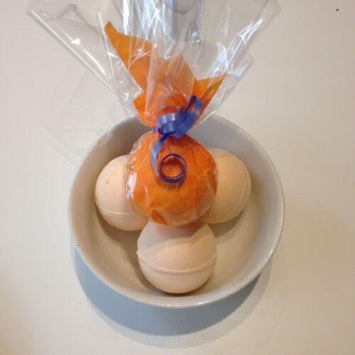 Bomba de baño Chocolate Naranja haciendo Hágalo usted mismo Craft Kit-Hace 6 X 100g