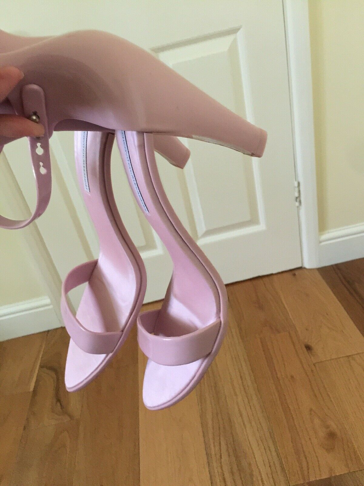 Alexandre Herchcovitch for Melissa Pink Nude Sandals Size 8UK