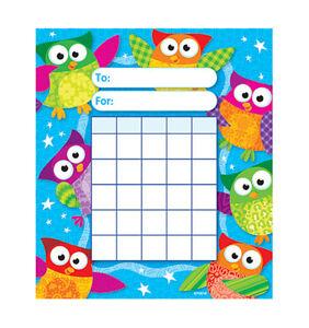 Kids-Owl-Stars-Reward-Incentive-chart-pad-200-Free-Chart-sized-Stickers