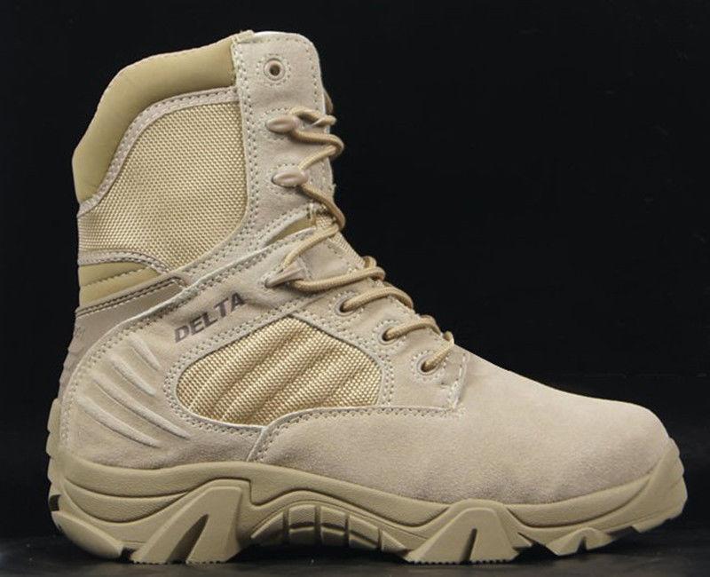 ... Gli stivali militari caviglia tattica sz di combattimento scarpe pelle  conforto scarponi da deserto sz tattica ... 1e8a31bbe6d
