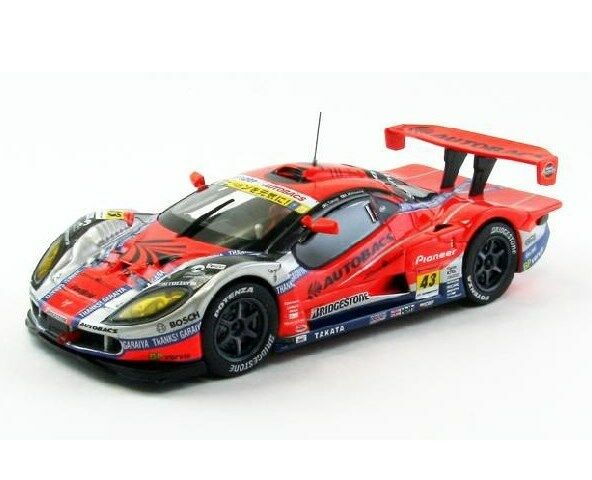 EBBRO 44748 1:43 ARTA Garaiya Super GT300 2012 last race  43 resin arancia