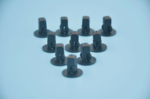 10Pcs NISSAN WHEEL ARCH INNER WING /& GUARD SCREW MOUNTING TRIM CLIPS